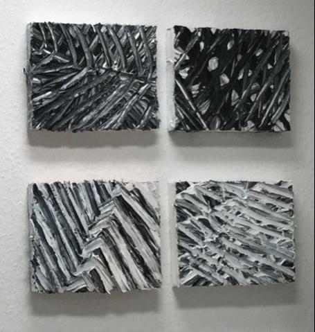 Dorothea Aschoff: Liniengespinsten linien